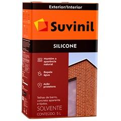 Silicone Solvente Incolor 5 Litros - Suvinil