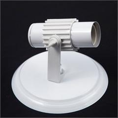 Spot com Aleta de Sobrepor para 1 Lâmpada Branco - JM Iluminação