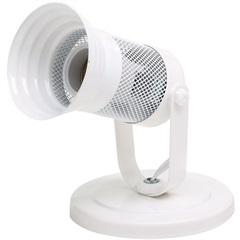 Spot com Tela Branco para 1 Lampada - Ref: Mf 380/1