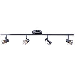 Spot de Arco para 4 Lâmpadas New Short Gu10 Cromado - LLum Bronzearte