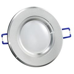 Spot de Embutir Led Fixo Redondo 10cm 4w Branco Quente Bivolt 9162 - Gaya