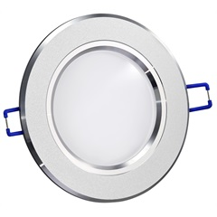 Spot de Embutir Led Fixo Redondo 12,5cm 8w Branco Frio Bivolt 9165 - Gaya