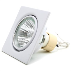 Spot de Embutir para 1 Lâmpada 50w 110v 6500k Luz Branca - Bronzearte