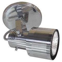 Spot de Sobrepor em Alumínio para 1 Lâmpada 60w 110v Polido E Lixado