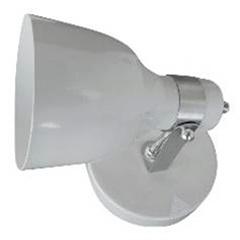 Spot de Sobrepor em Alumínio para 1 Lâmpada Cancun Branco - JM Iluminação