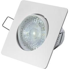Spot Led de Embutir Quadrado Sp 25 5w Autovolt 6500k Luz Branca - Taschibra