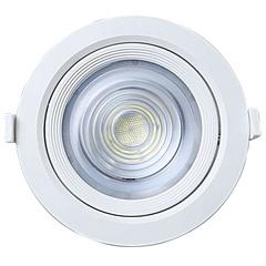Spot Led de Embutir Redondo Alltop 10w Autovolt 6500k Luz Branca - Taschibra
