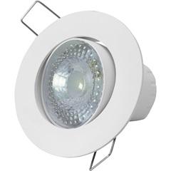 Spot Led de Embutir Redondo Sp 25 5w Autovolt 6500k Luz Branca - Taschibra