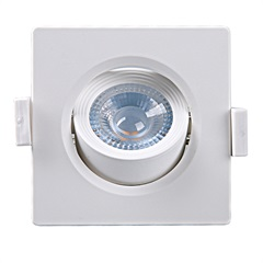 Spot Led Quadrado Alltop Mr16 5w 6500k - Taschibra