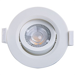 Spot Led Redondo Alltop Mr11 3w 3000k - Taschibra