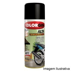 Spray Alta Temperatura Alumínio - Colorgin - Sherwin Williams
