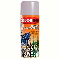 Spray Esmalte Anti Ferrugem 3 em 1 Preto - Colorgin
