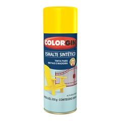 Spray Esmalte Sintético Amarelo - Colorgin