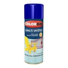 Spray Esmalte Sintético Azul Colonial - Colorgin