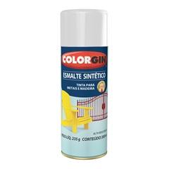 Spray Esmalte Sintético Branco Gelo - Colorgin