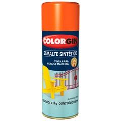Spray Esmalte Sintético Laranja - Colorgin