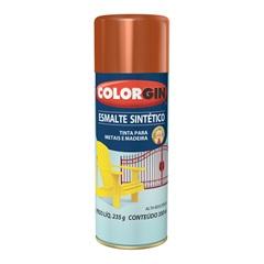 Spray Esmalte Sintético Marrom - Colorgin