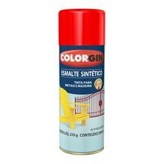 Spray Esmalte Sintético Vermelho - Colorgin