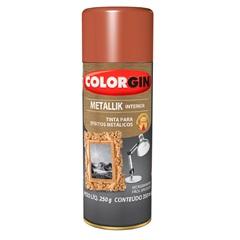 Spray Metallik Cobre - Colorgin