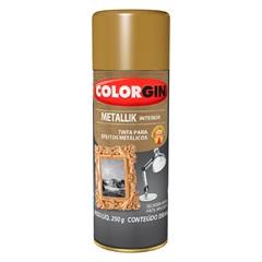 Spray Metallik Dourado - Colorgin