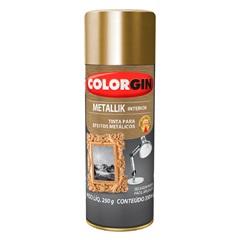 Spray Metallik Ouro - Colorgin