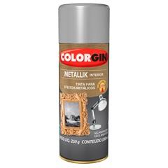 Spray Metallik Prata - Colorgin