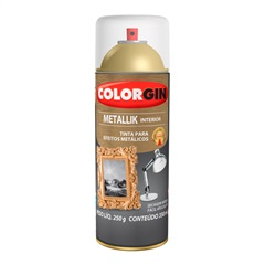 Spray Metallik Verniz Incolor - Colorgin