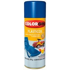 Spray Plástico E Acrílico Preto - Colorgin