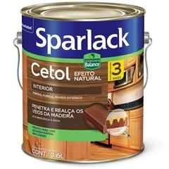 Stain Acetinado Cetol Natural Transparente 3,6 Litros - Sparlack