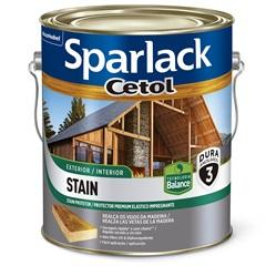 Stain Premium Acetinado Plus a Base D'Água Imbuia 3,6 Litros - Sparlack
