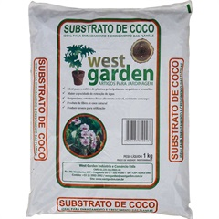 Substrato de Coco Saco com 1kg - West Garden