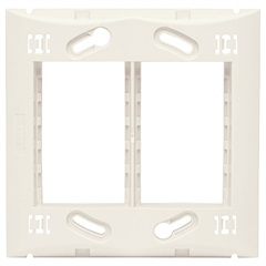 Suporte 4''X4'' para 6 Módulos Brava Branco - Iriel