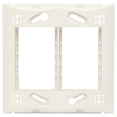 Suporte 4x4 para 6 Módulos Brava Branco - Iriel