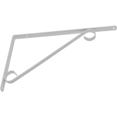 Suporte Colonial para Vidro 30cm Branco - Utilfer