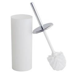 Suporte com Escova para Banheiro Decorline 39x10cm Branco - Coza