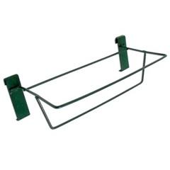 Suporte de Parede para Floreira 38x18cm Verde - Alambre