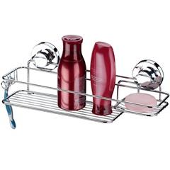 Suporte de Parede para Shampoo E Sabonete Praticità Cromado - Future