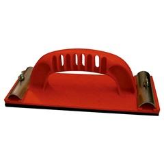 Suporte Manual para Lixa 23x8,5mm Vermelho - Worker