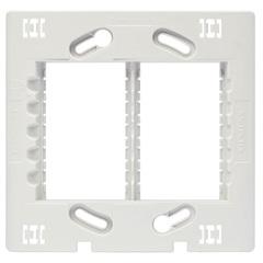 Suporte para 6 Módulos 4x4 Vivace Branco - Iriel