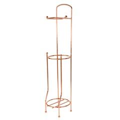 Suporte para Papel Higiênico em Aço 65x15,2cm Rose - Casanova