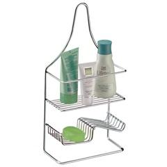 Suporte para Shampoo E Sabonete em Aço 42x21cm Cromado - Casanova