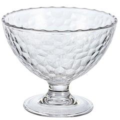 Taça de Sobremesa 240ml em Acrílico Martelado 240ml - Casanova