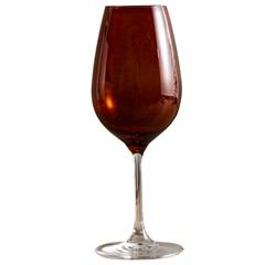 Taça de Vinho em Cristal Prestige 450ml Âmbar - Casa Etna