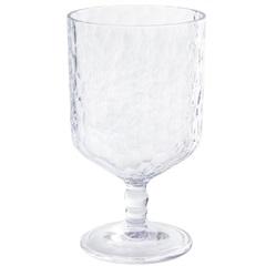 Taça em Acrílico Martelado 300ml Transparente - Casanova