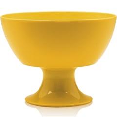 Taça para Sobremesa Luna Cristal 300ml Amarelo - Fabrimar