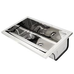 Tanque de Inox sem Espelho E sem Concreto 51x82cm Ref. 10185 - Franke