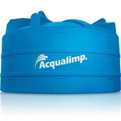 Tanque em Polietileno 16000 Litros Azul - Acqualimp
