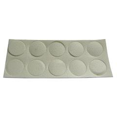 Tapa Furo para Móveis Adesivo 20 Peças Branco - Metropac