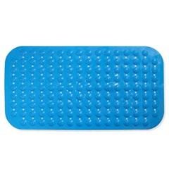 Tapete Antiderrapante Massageador para Pés 69x36cm Azul - Casanova