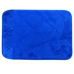 Tapete de Banheiro em Microfibra 40x60cm Azul - Casanova